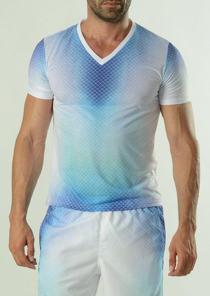 Men T-shirt short sleeve 1608t3v