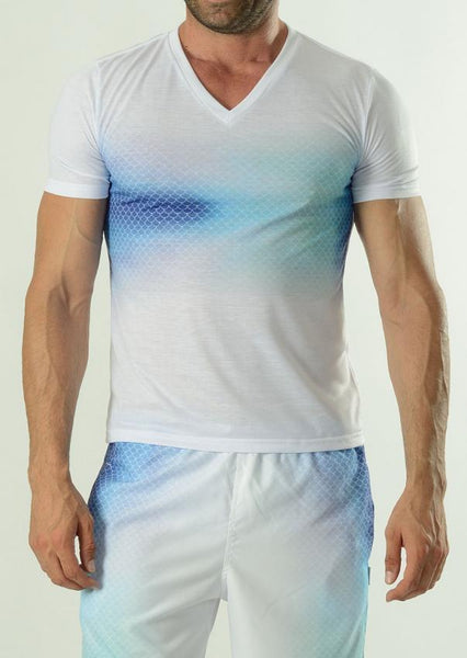 Men T-shirt short sleeve 1608t3h