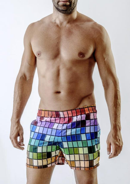 Men Swimming Shorts 1718p1