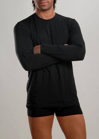 Men T-shirt long sleeve b26