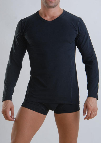 Men T-shirt long sleeve 959t6