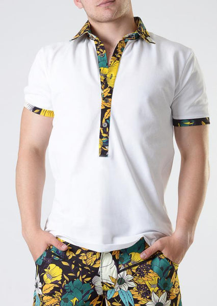 Men T-shirt short sleeve 1801t7