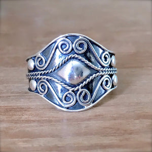 Gypsy Eye Ring