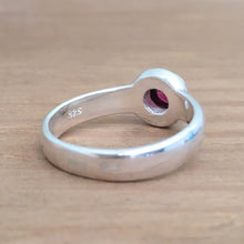 Vintage Garnet Stacking Ring