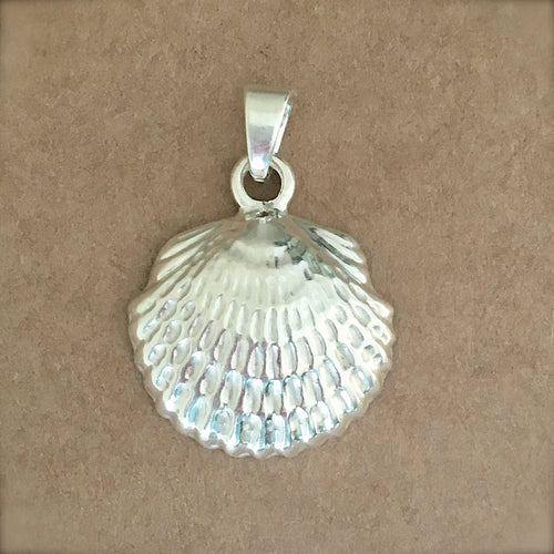 Textured Shell Pendant