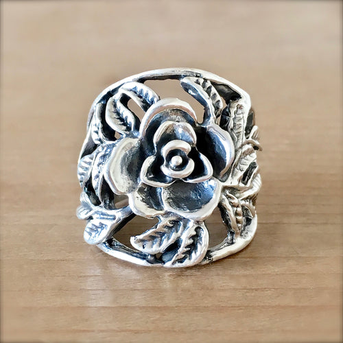 Rose Vine Ring