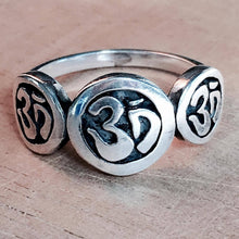 Om Chain Ring - size 7.25