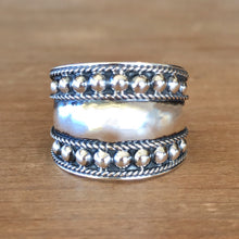Soulful Silver Ring