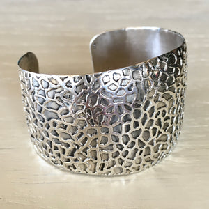 Great Barrier Wide Cuff Bracelet
