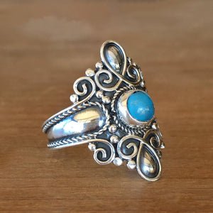 Serenity Turquoise Ring