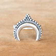 Desert Moon Silver Ring