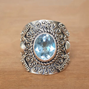 Atlantis Topaz Ring
