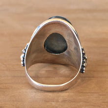 Labradorite and Silver Ring - size 6.75