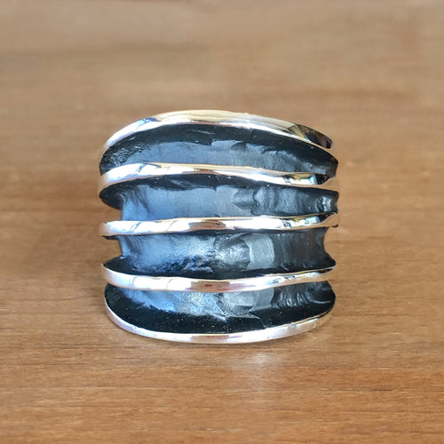 Orbit Silver Ring
