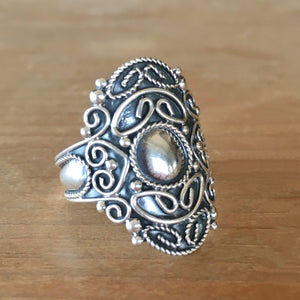 Guidance Silver Ring