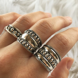 Zen Silver Stacking Ring