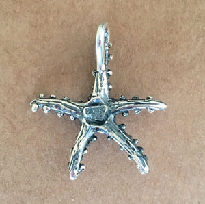 Dotted Starfish Pendant