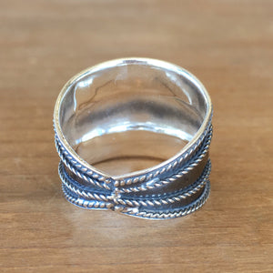 Reflection Silver Ring
