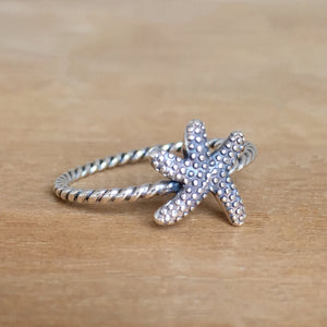 Starfish Stacking Ring