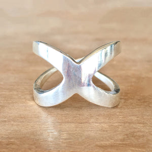 Equis Silver Ring