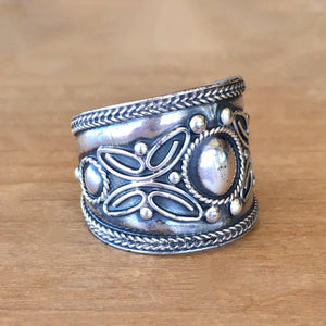 One of a Kind Silver Ring