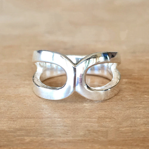 Bonded Silver Ring