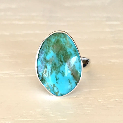 Turquoise and Silver Ring