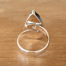 Moonstone and Silver Ring