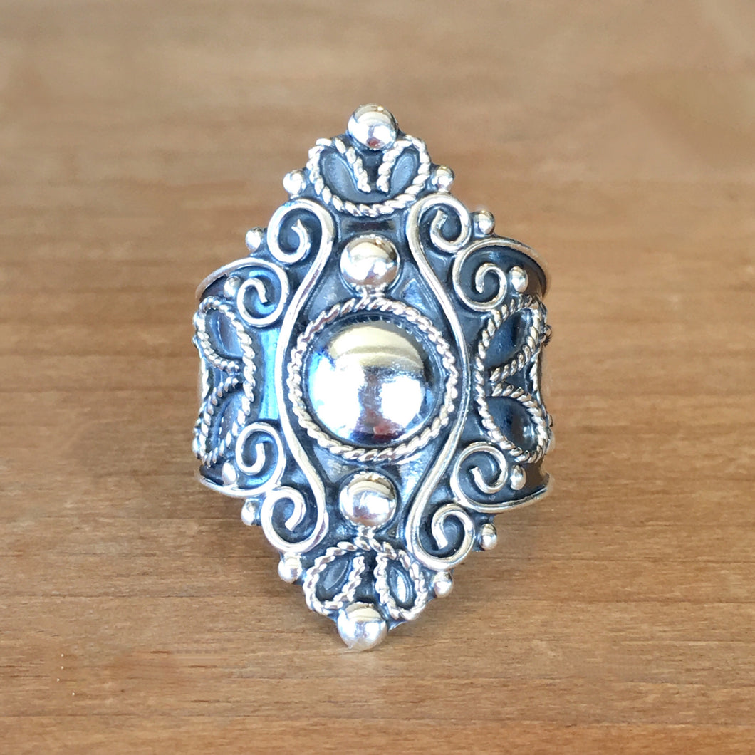 Mystique Silver Ring