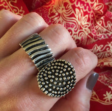 Dotted Silver Ring