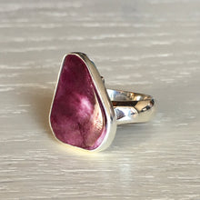 Spiny Oyster Shell and Silver Ring