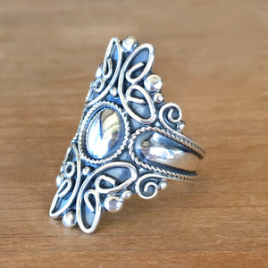 Majestic Silver Ring