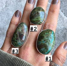 Jade and Silver Rings