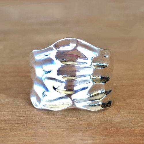 Tides Silver Ring
