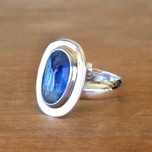 Oasis Kyanite and Silver Ring