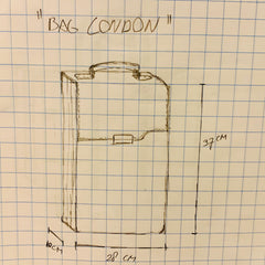 London-laptop-backpack-first-sketch