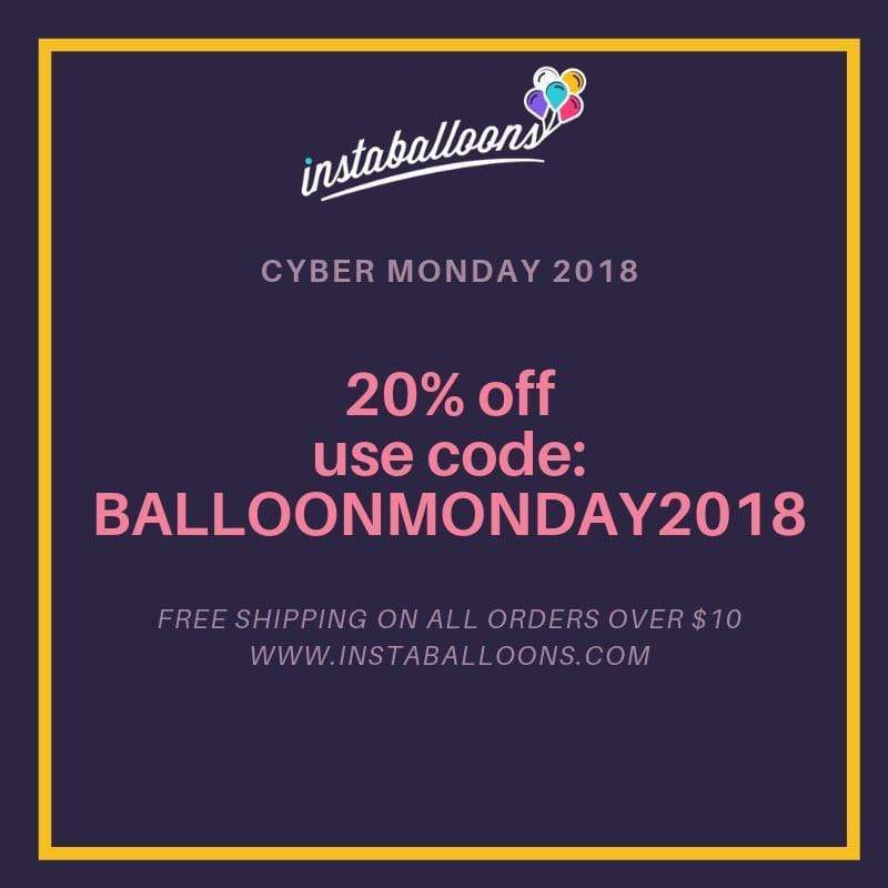 Our 2018 Cyber Monday Sale: 20% Off!