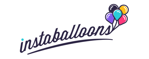 Logo for instaballoons and instaballoons.com