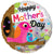 Convergram Mylar & Foil Happy Mother's Day Birds Holographic 18″ Balloon