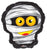 Convergram Mylar & Foil Mummy Head 18″ Balloon