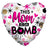 Convergram Mylar & Foil This Mom Is Da Bomb 18″ Balloon