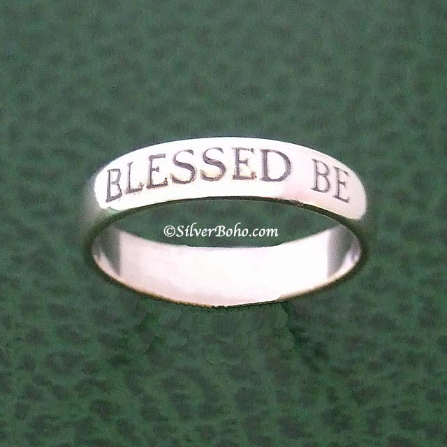 Blessed Be Ring  **QUICK - ONLY A FEW LEFT!**