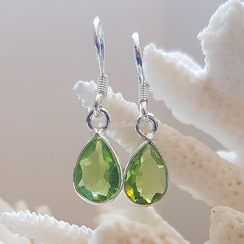 Teardrop Peridot Earrings - *MORE STOCK SOON*