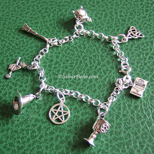 Witchy Charm Bracelet 1 **QUICK - ONLY 3 LEFT! **