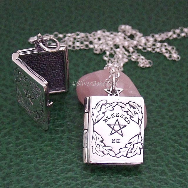 Book of Shadows Locket **QUICK - 1 LEFT!**