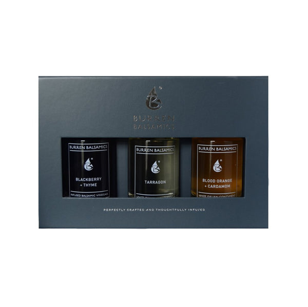 Burren Trio Sampler - Blood Orange, Cardamom and Tarragon 3 x 50 ml