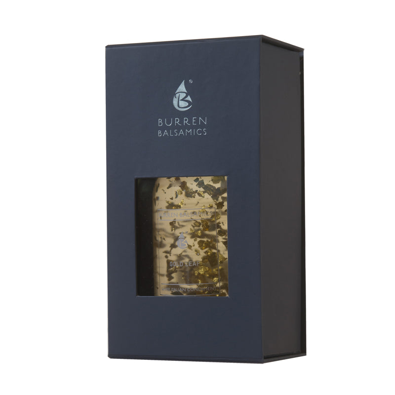 Burren 24 Carat Gold Leaf White Balsamic Italian Condiment - 200ml