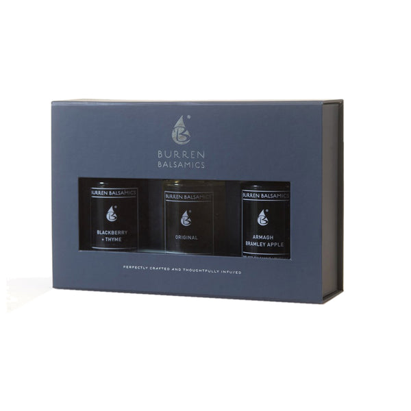 Burren Trio Sampler - Blackberry Thyme, Original and Bramley Apple 3 x 50 ml