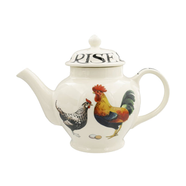 Hen and Toast Rise & Shine Teapot by Emma Bridgewater