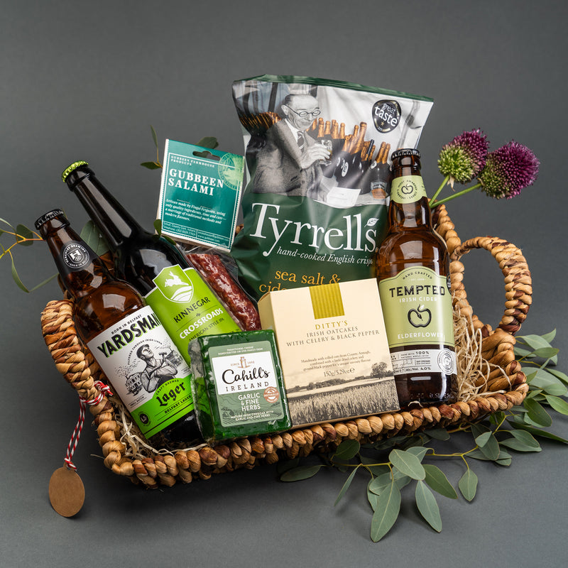Irish Craft Brew Hamper by Wee Toast Tours